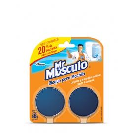 Bloque p/Mochila x 2 unid. Mr Musculo
