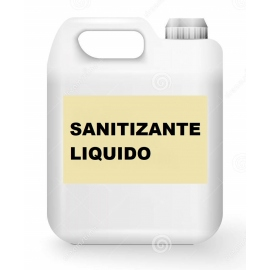 Sanitizante Liquido base Alcohol x 5 lts